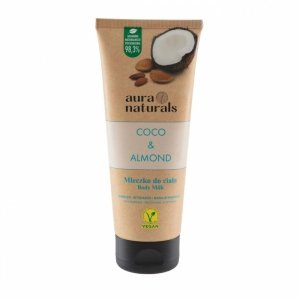 Aura naturals - Coco & Almond mleczko do ciała 200ml