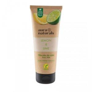 Aura naturals - Lemon & Lime mleczko do ciała 200ml