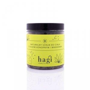Naturalny scrub do ciała z olejem konopnym i makadamia 300g