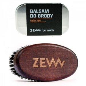 Zew for men - Stylowy Brodacz zestaw balsam do brody 80ml + Szczotka Brodacza do profesjonalnej pielęgnacji zarostu