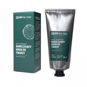 Zew for men - Multi-zadaniowy nawilżający krem do twarzy z czarną hubą 80ml