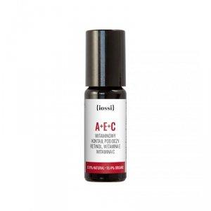 Iossi - A+E+C witaminowy koktajl pod oczy z retinolem oraz witaminami E i C 10ml