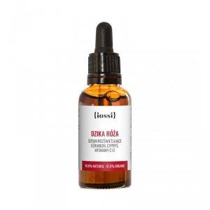 Iossi - Dzika Róża serum rozświetlające z geranium cyprysem witaminami C i E 30ml