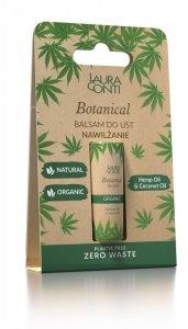Laura conti - Botanical balsam do ust nawilżający z olejem konopnym 8.3g