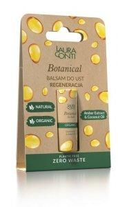 Laura conti - Botanical balsam do ust regenerujący z olejem bursztynowym 8.3g
