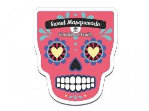 Dr. mola - Sweet Masquarade Pink & Red Fruits Sheet Mask rewitalizująco-rozświetlająca maseczka w płachcie 23ml