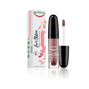 Equilibra - Love's Nature Lip Gloss błyszczyk do ust 02 Rose Bronze 3ml