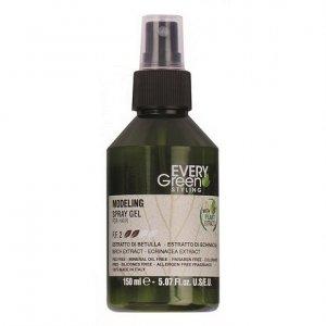 Every green - Modeling Spray Gel For Hair modelujący żel w sprayu do włosów 150ml