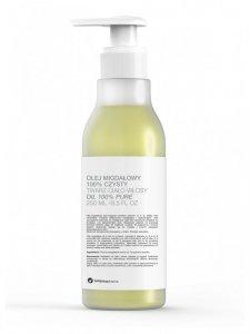 Botanicapharma - Olej migdałowy 100% czysty do twarzy ciała i włosów pompka 250ml