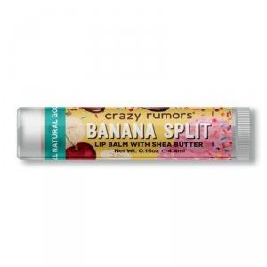 Crazy rumors - Naturalny balsam do ust Banana Split 4.4ml