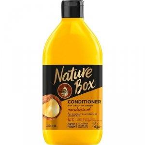 Nature box - Conditioner odżywka do włosów Macadamia Oil 385ml