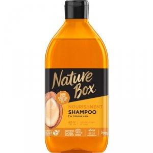 Nature box - Nourishment Shampoo odżywczy szampon do włosów z olejkiem arganowym 385ml
