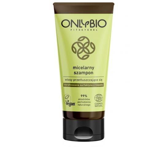 Only Bio, Micelarny szampon do włosów Przetłuszczających się, 200ml