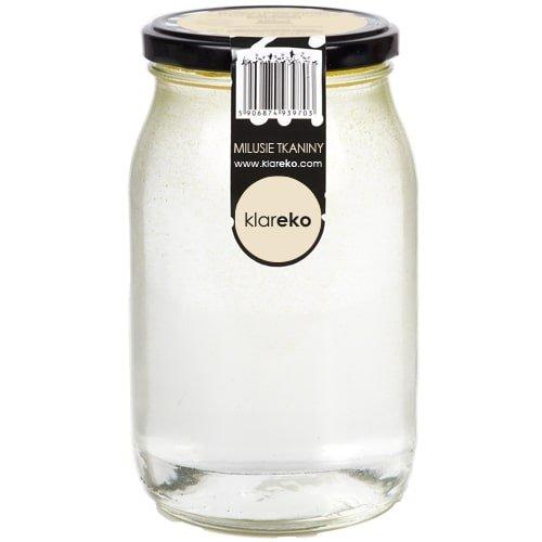 Klareko, Milusie Tkaniny, Bezzapachowy, słoik 900 ml