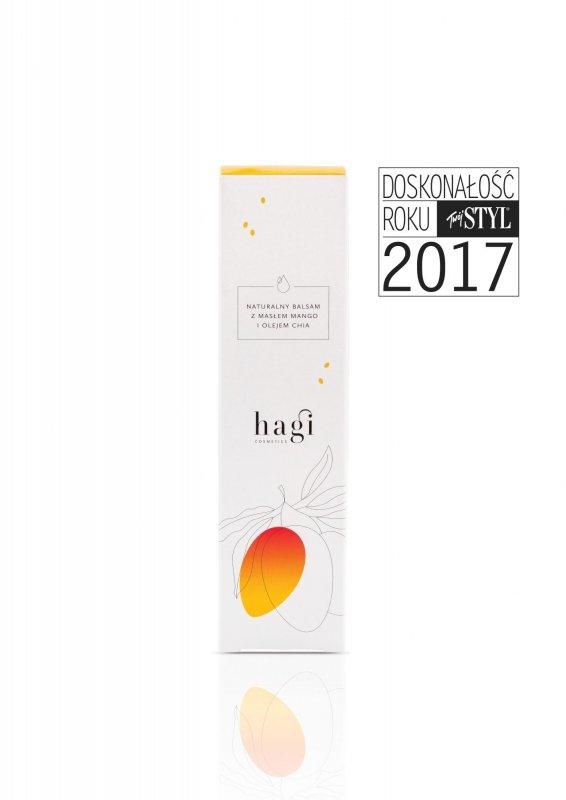 Hagi, Naturalny balsam do ciała z masłem mango i olejem chia, 200ml