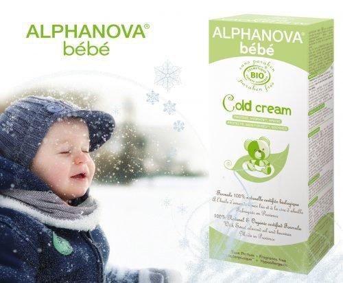 Alphanova Bebe, Krem Ochronny na Zimę, cold cream, 50ml