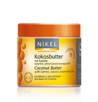 NIKEL, Masło kokosowe z Marchewką, ochrona UV, 250ml