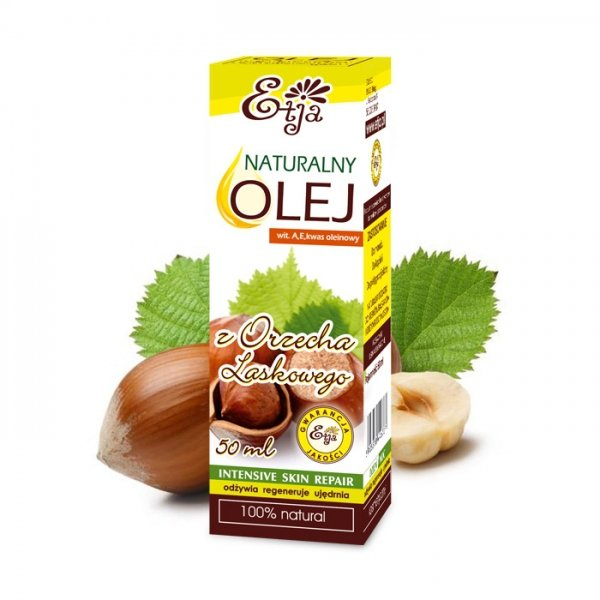 Etja, Olej z Orzecha Laskowego, 50ml