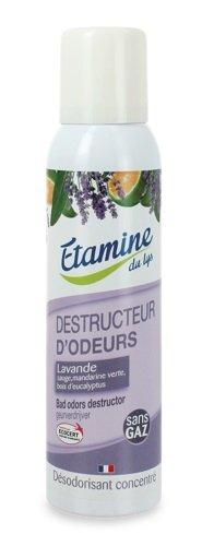 Etamine du Lys, Skoncentrowany oczyszczacz i odświeżacz powietrza w sprayu Zapach Lawendowy, 125 ml