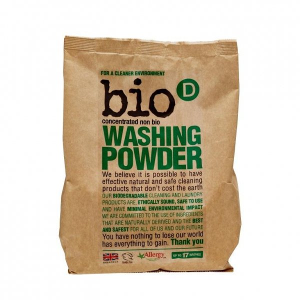 Bio-D, Proszek do prania, koncentrat, 1kg