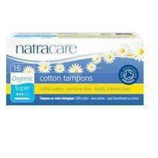 NATRACARE Tampony higieniczne z aplikatorem SUPER 16szt.