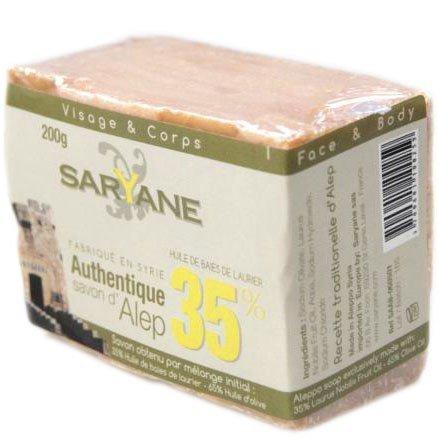 SARYANE Mydło z Aleppo 35% oleju laurowego 200 g