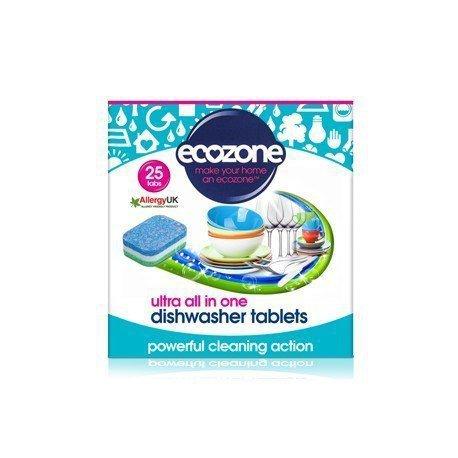 ECOZONE Tabletki do zmywarki ultra 25szt