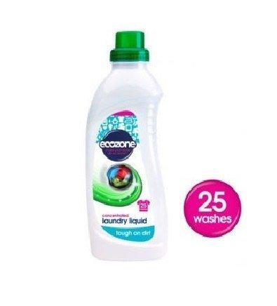 ECOZONE Płyn do prania super skoncentrowany 25 prań 1L