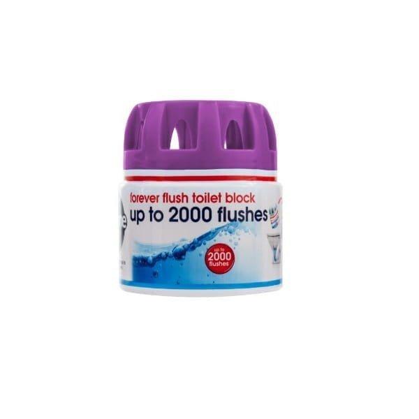 ECOZONE Ekologiczna kostka do toalety forever flush indigo do 2000 spłukań - kostka do toalety
