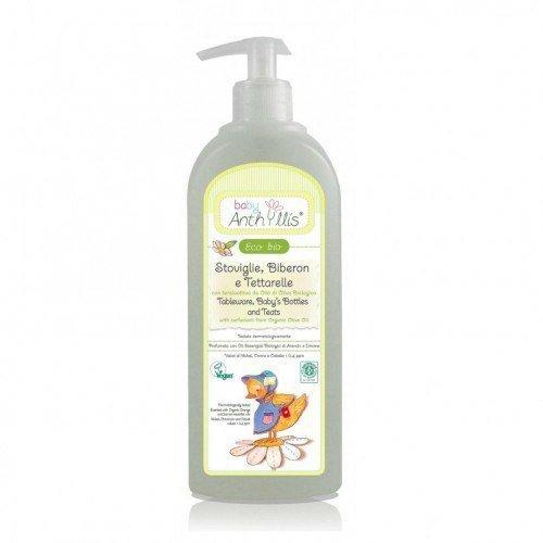 BABY ANTHYLLIS Płyn do mycia butelek i smoczków z surfaktantem z oliwy z oliwek z upraw ekologicznych 500ml