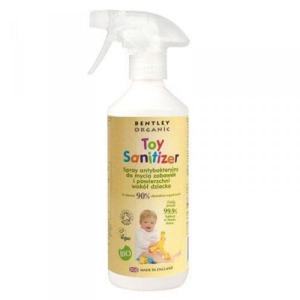 BENTLEY ORGANIC Dziecięcy Spray Dezynfekujący do Mycia Zabawek 500ml