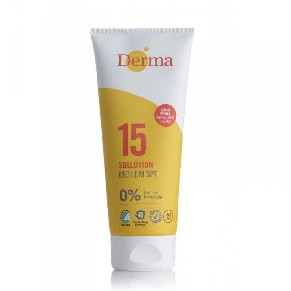 Derma Sun Balsam ochrona słoneczna SPF 15 certyfikowany 200ml