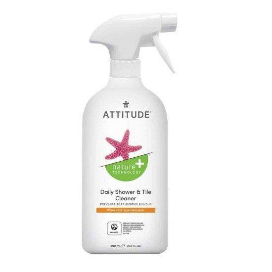 ATTITUDE Płyn do czyszczenia prysznica Skórka Cytrynowa 800 ml