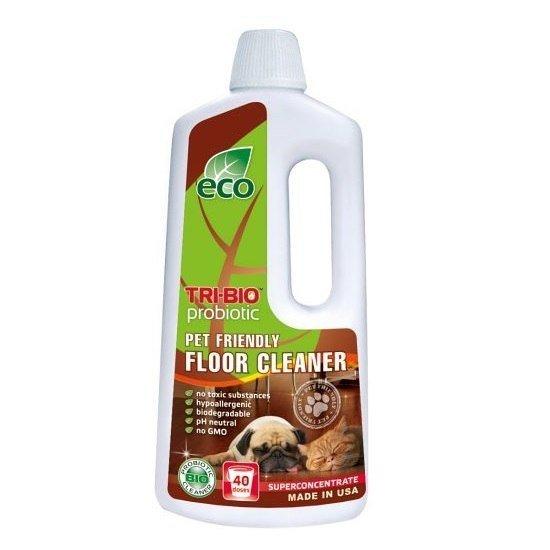 TRI-BIO Probiotyczny skoncentrowany środek do mycia podłóg przyjazny dla Zwierząt 890 ml