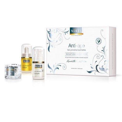 NIKEL Zestaw Prezentowy Pielęgnacja Cery przeciwzmarszczkowa (3 produkty)