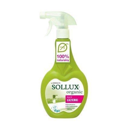 SOLLUX ORGANIC Płyn do czyszczenia łazienki 500ml