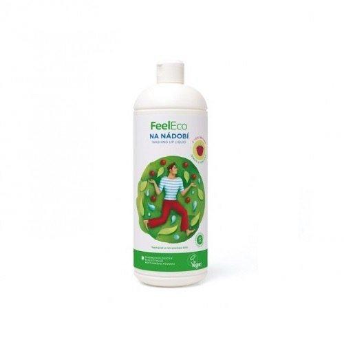 FEEL ECO Ekologiczny płyn do mycia naczyń, owoców i warzyw o zapachu malinowym 1L