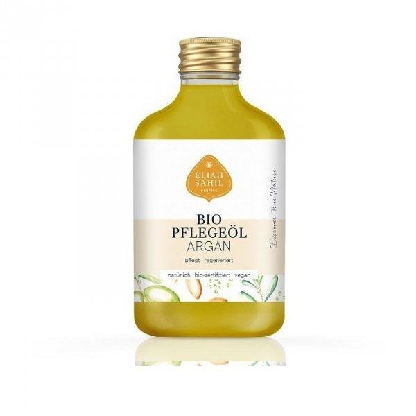 Eliah Sahil Organiczny Arganowy olejek pielęgnacyjny do skóry i włosów Zero Waste 100ml