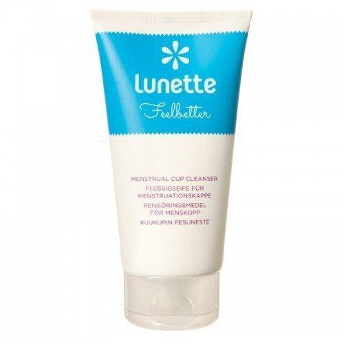 Lunette Żel do mycia kubeczków menstruacyjnych na bazie olejków eterycznych WYDAJNY wegański 150 ml