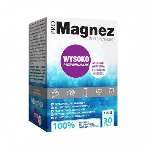 DR. GAJA ProMagnez 30 saszetek 120g Cytrynian Magnezu 100% RWS