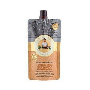 Babuszka Agafia Balsam pielęgnacyny do włosów farbowanych Ochrona Koloru (Łaźnia Agafii) 100ml