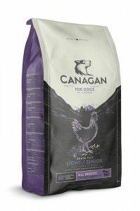 Canagan Light & Senior Dog Free-Range Chicken 2kg bez zbóż dla psów starszych i psów z nadwagą