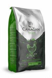 Canagan Free-Range Chicken 4kg dla Kota z kurczakiem z wolnego chowu