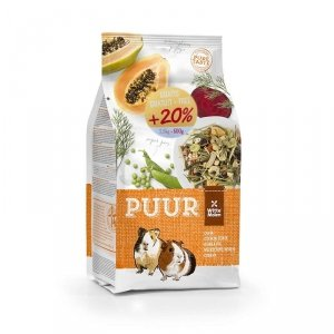Witte Molen PUUR 2,5kg+0,5kg Guinea Pigs muesli dla świnki morskiej 20% GRATIS