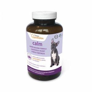 24h canifelox calm 40tab - łagodzi objawy stresu i niepokoju tabletki uspakajające psa