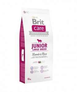 Brit care Junior Large 12kg Lamb&Rice