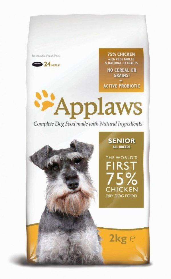 Applaws Senior 2 kg z kurczakiem