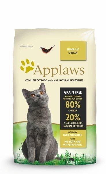 Applaws Senior z Kurczakiem 2kg dla kota