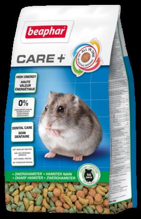 beaphar Care+ Dwarf Hamster 250g - karma Super Premium dla chomików karłowatych