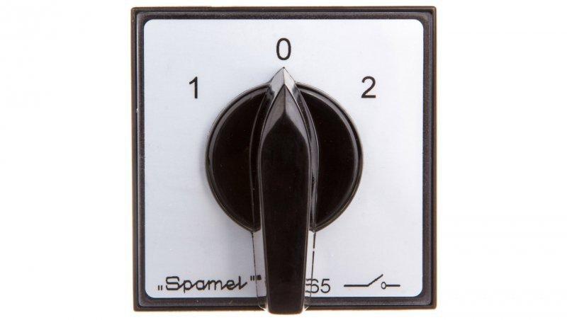 Łącznik krzywkowy sieć-agregat 3P 25A do wbudowania SK25-3.8380P03